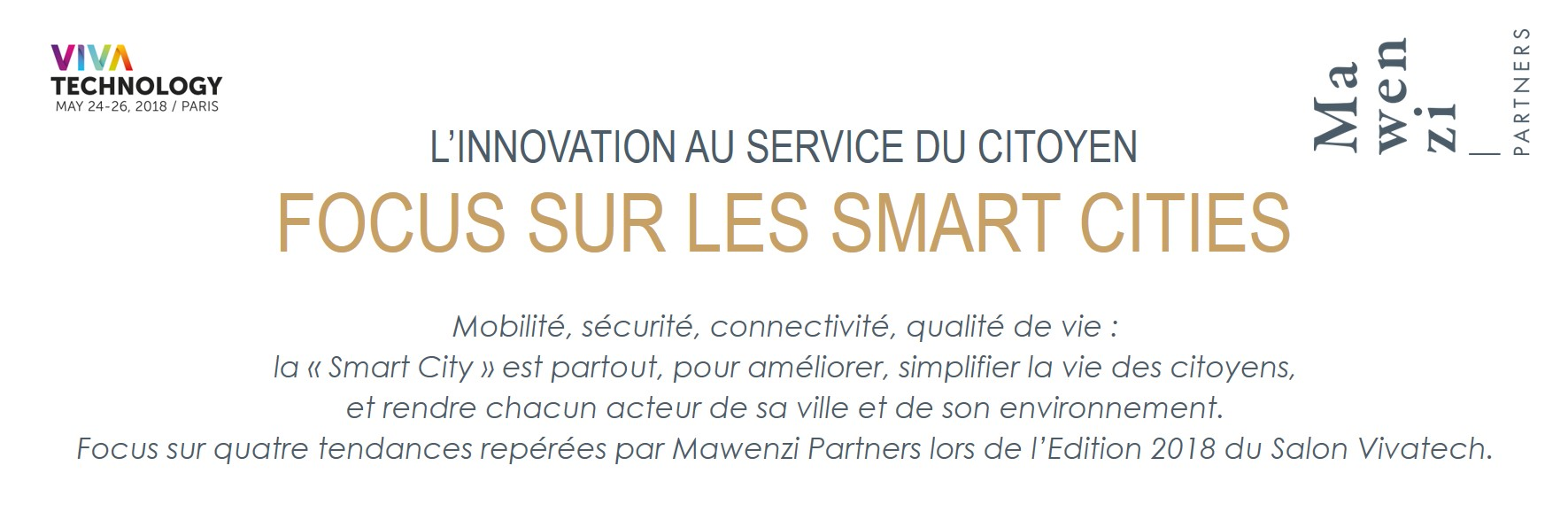 Infographie Smart Cities Partie 1