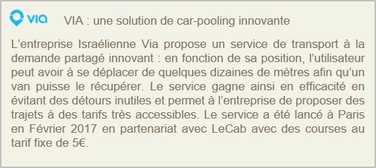 via-car-pooling innovation-transport-voiture-autonome
